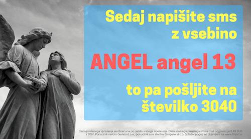 angelsko sporočilo 13